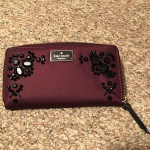 Kate Spade Maroon Wallet